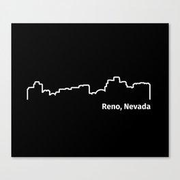 Reno, Nevada Canvas Print