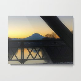 Puyallup Valley Metal Print