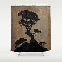 safari Shower Curtains featuring Safari by Last Call
