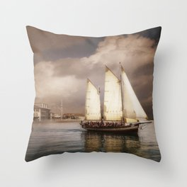 They've All Come To Look For America Throw Pillow