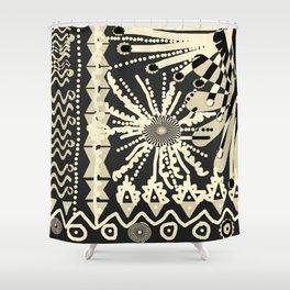 AFRICAN GARDEN TTY N4 Shower Curtain