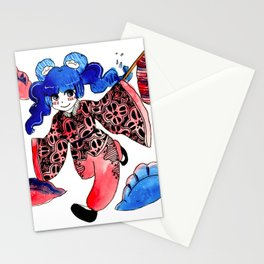 dumplings Stationery Cards