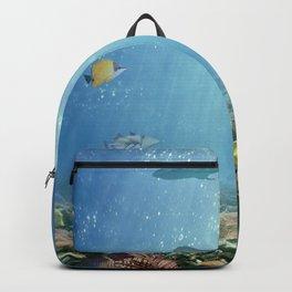 Hawaiian Waters Fish Backpack