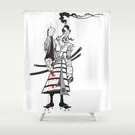 Head collector Shower Curtain