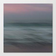 The Sea, the sea Canvas Print