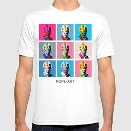 Pope art T-shirt
