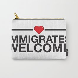 Immigrates Welcom Carry-All Pouch