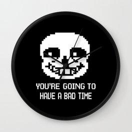 Sans bad time Wall Clock