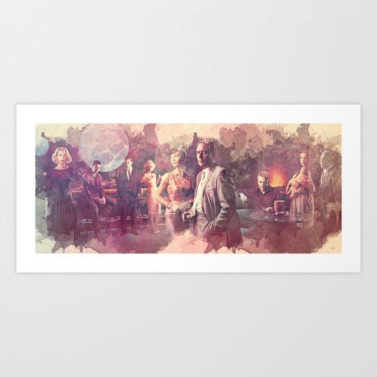 Magic City TV Series Art Print