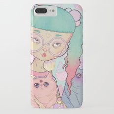 Cat Lady Slim Case iPhone 7 Plus