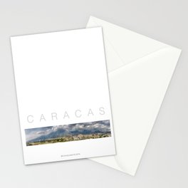 East CARACAS West Stationery Cards