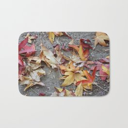 The beauty of fall Bath Mat
