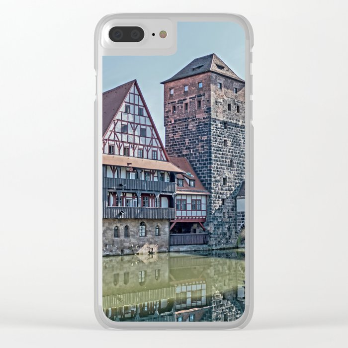 Romantic Nuremberg, -Franken-Bavaria-Germany Clear iPhone Case