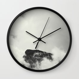 Mountain in the Clouds Wall Clock