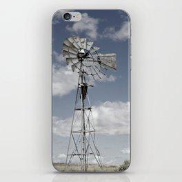 VINTAGE WINDMILL iPhone Skin