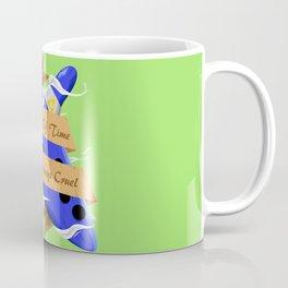 The Flow of Time is Always Cruel Coffee Mug
