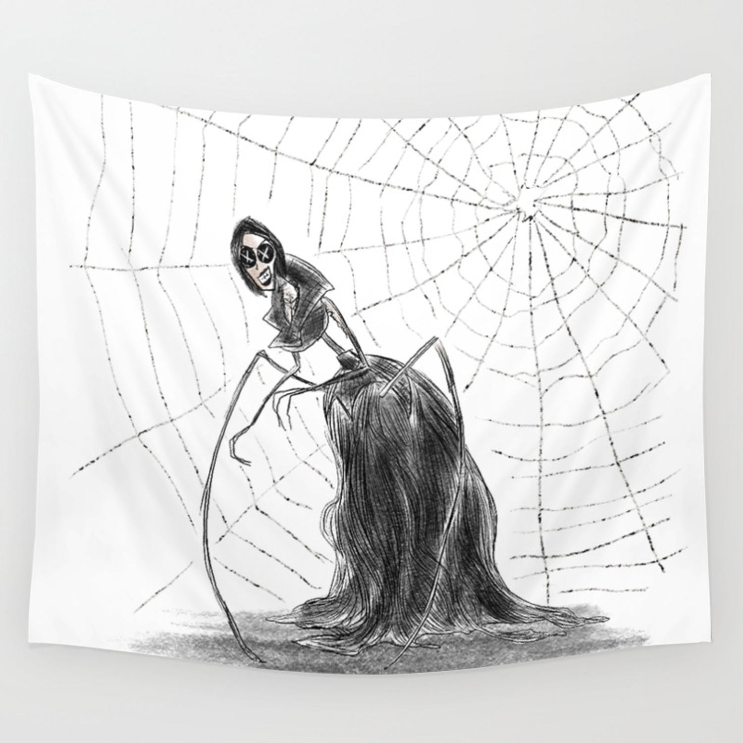 Coraline The Other Mother Wall Tapestry By Hollydoesart Society6