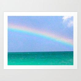 tropical promise Art Print