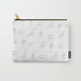 Hands By Maria Piedra Carry-All Pouch