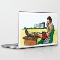 hunter s thompson Laptop & iPad Skins featuring Hunter S. Thompson, The Rum Diary by Abominable Ink by Fazooli