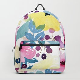 Tropical Poppies Backpack