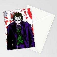 Heath Ledger Joker Stationery Cards