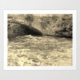 Antique Bridge Art Print