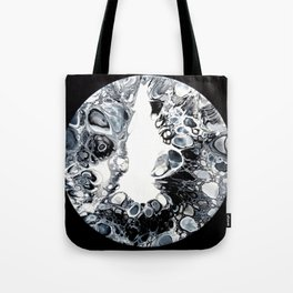 The white light Tote Bag