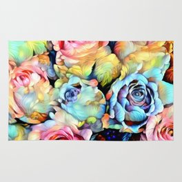 For Love of Roses Rug