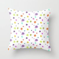 nori Throw Pillows featuring NORI by LAUREN WALKER