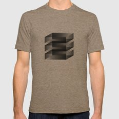 2011-12-07 2X-LARGE Mens Fitted Tee Tri-Coffee