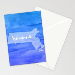Sweet Home Massachusetts Stationery Cards