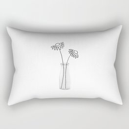 Flower Still Life II Rectangular Pillow