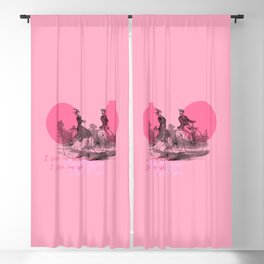 I LOVE MY BICYCLE Blackout Curtain