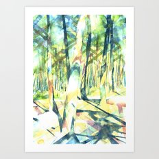 Scenes from the Forest Art Print