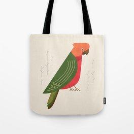 Australian King Parrot, Bird of Australia Tote Bag