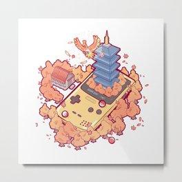 Pocket Monster V2 - Ho-Oh Metal Print