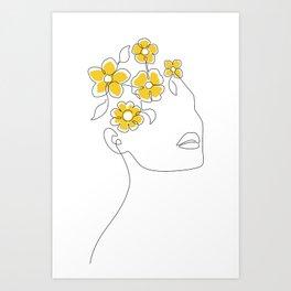 Sunny Spring Mind Art Print