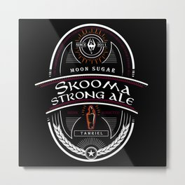 Strong Ale Skooma Metal Print