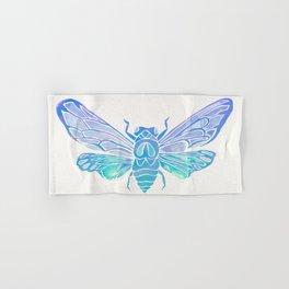 Summer Cicada – Blue Ombré Palette Hand & Bath Towel