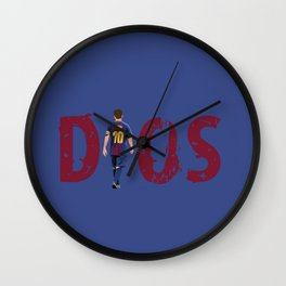 Dios- a tribute to Messi Wall Clock