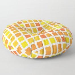 City Blocks - Sunshine #959 Floor Pillow