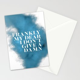Frankly my dear Stationery Cards