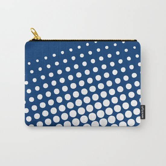 White raster - Optical game11 Carry-All Pouch