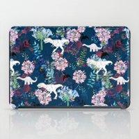 jurassic park iPad Cases featuring Jurassic Park by Bobo1325