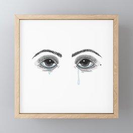 Pretty Cryer Framed Mini Art Print