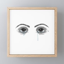 Pretty Cryer Framed Mini Art Print