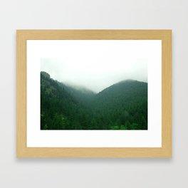 Chasing Framed Art Print