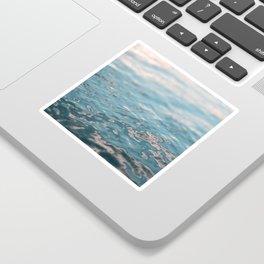 Sunset Water Sticker