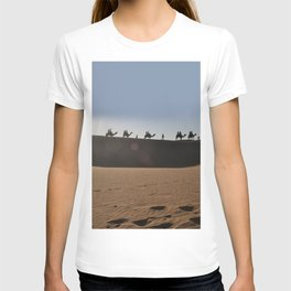 Camel Safari in Thar T-shirt